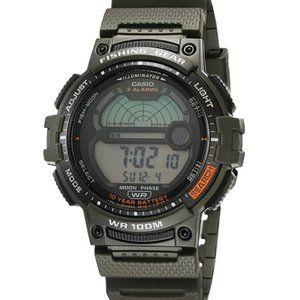 Casio Men's Illuminator Quartz Sport Watch Green